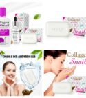 Collagen Soap, cream and serum